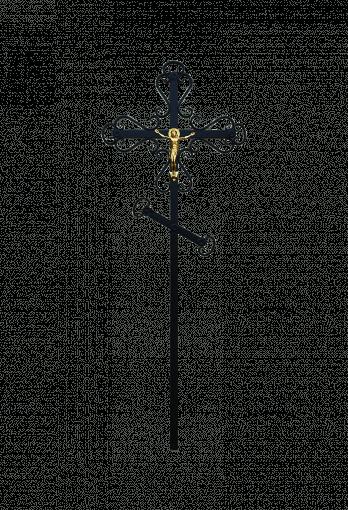 Крест метал кованный